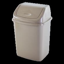 Кош за отпадъци 10 литра кремав