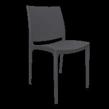 Стол Ема тъмно сив