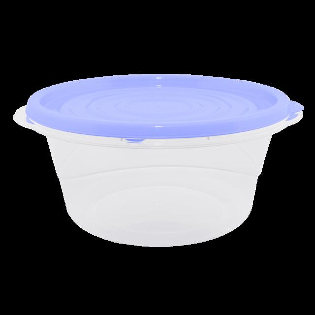 К-т контенери за хранителни продукти ОМЕГА 0,44л(3бр)кръгли