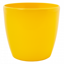 Кашпа МАТИЛДА 16*15см жълта