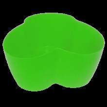 Саксия Кактусник за 3 растения св.зелена