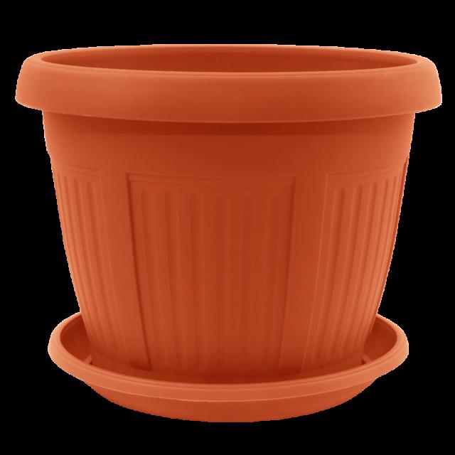Саксия с подложка НИКОЛ  28,0х21,5 см