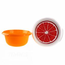 Купа с капак и декор 3,75 л оранж / плодове