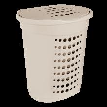 Кош за пране 60 л кремав
