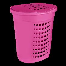 Кош за пране 60 л розов