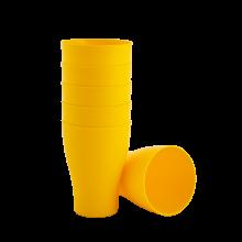 Комплект чашки 6бр.x 0,075 оранж