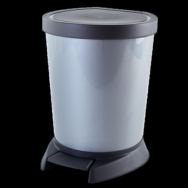 Кош за отпадъци с педал 18 литра