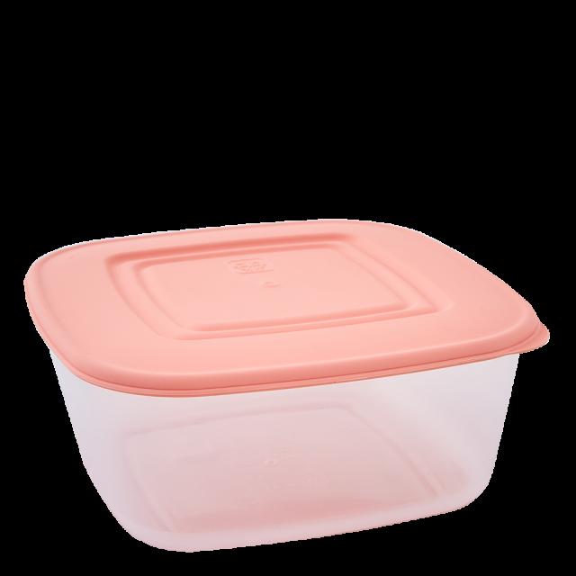Кутия за хранителни продукти, квадратна, 1,88л