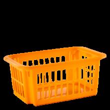 Кошница / панер 10 литра оранж