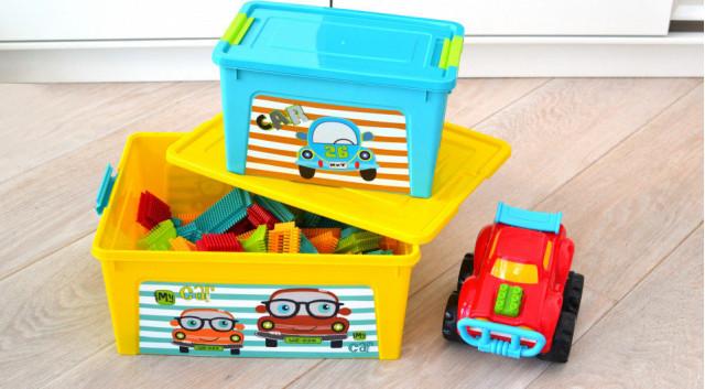 Кутия Smart Box с декор Pet Shop  3,5л