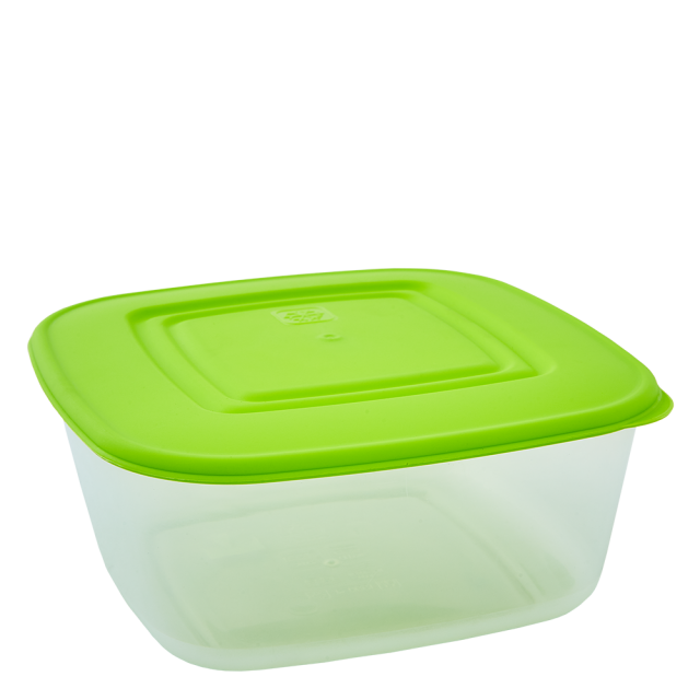 Кутия за хранителни продукти, квадратна, 0,93л
