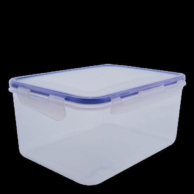 Кутия за хранителни продукти със закопчаване, правоъгълна 4,0 л