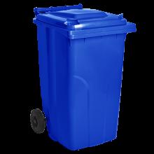 Контейнер за битови отпадъци 120 л син