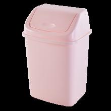 Кош за отпадъци 10 литра св.розов