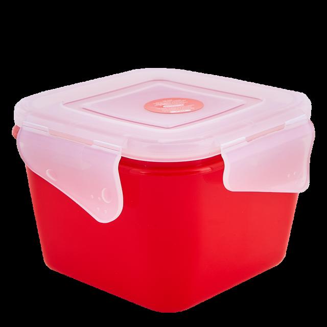 Кутия универсална Фиеста квадратна 0,45л със закопчаване