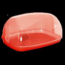 Кутия за хляб 32 червена