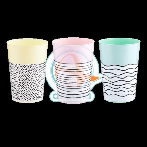 Чаша с декор РАЙЕ 0,4 л