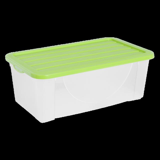 Кутия за съхранение на вещи с капак 6л