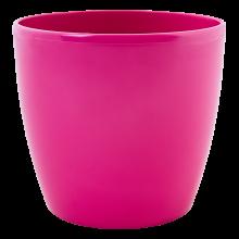 Кашпа МАТИЛДА 20*18см тъмно розова