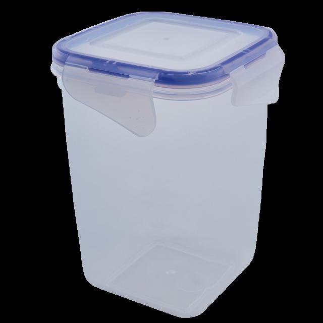 Кутия за хранителни продукти със закопчаване, дълбока 1л