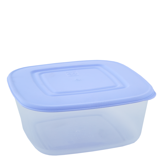 Кутия за хранителни продукти, квадратна, 3,0 л