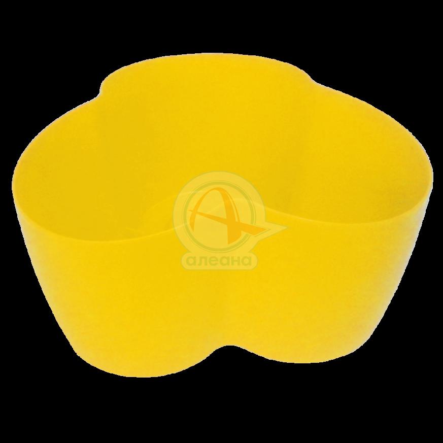 Саксия Кактусник за 3 растения жълта