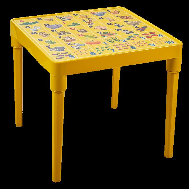 Пластмасова детска маса с  АНГЛИЙСКА АЗБУКА