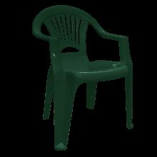 Стол ЛЪЧ тъмно зелен