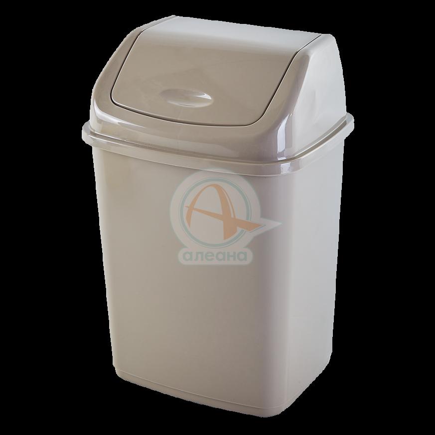 Кош за отпадъци 18 литра кремав