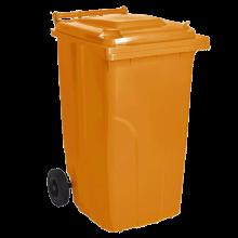 Контейнер за битови отпадъци 240 л оранжев