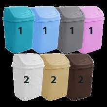 Кош за отпадъци 10 л микс