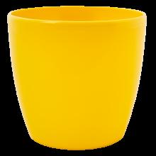 Кашпа МАТИЛДА 24*22см жълта