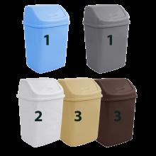 Кош за отпадъци 18 л микс