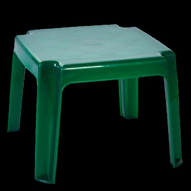 Маса за шезлонг на едро зелена