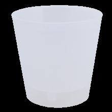 Саксия ДЕКО с двойно дъно 13,0х12,5 см.прозрачна