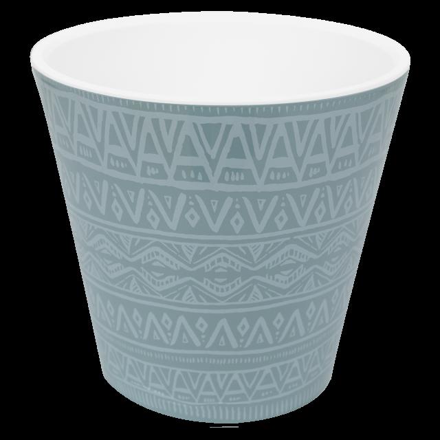Саксия ДЕКО с двойно дъно и декор 13,0х12,5 см Etno ornament