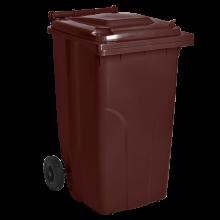 Контейнер за битови отпадъци 240 л кафяв