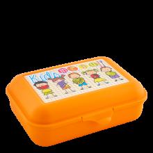 Кутия за сандвичи Smile оранж