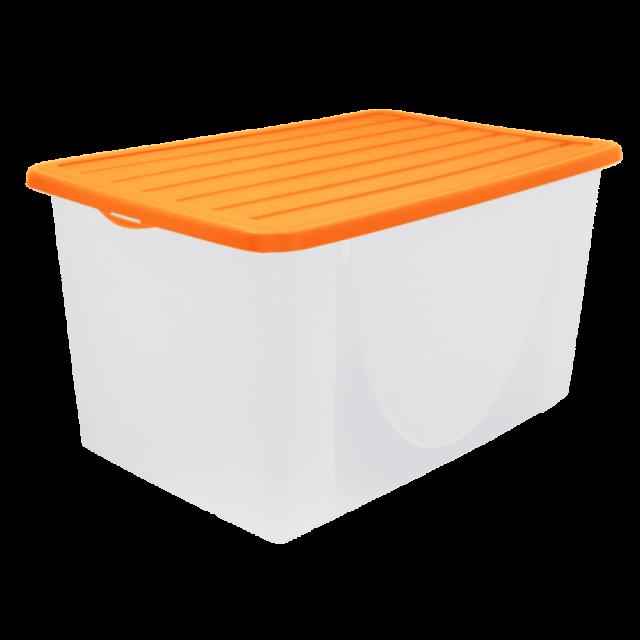 Кутия за съхранение на вещи с капак 22 л