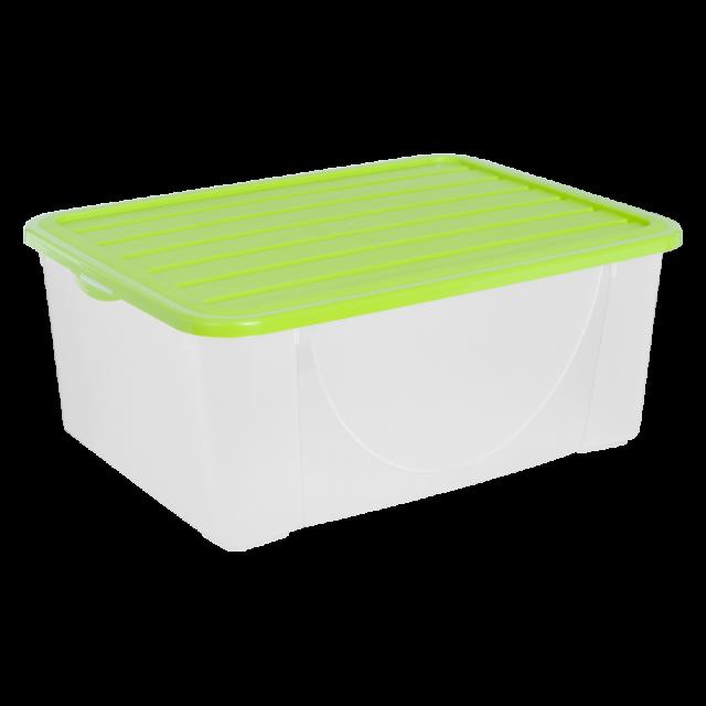 Кутия за съхранение на вещи с капак 9,6л