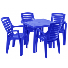 стол Рекс + квадратна маса