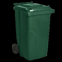 Контейнер за битови отпадъци 120 л зелен