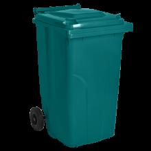 Контейнер за битови отпадъци 120 л тюркоаз