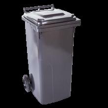 Контейнер за битови отпадъци  240 л тъмно сив