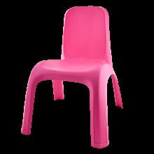 Детски стол розов