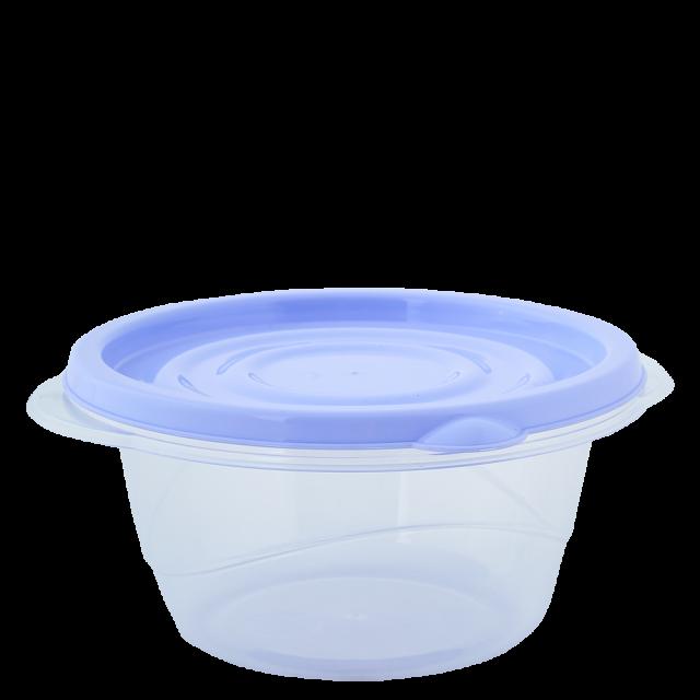 К-т контейнери за хранителни продукти ОМЕГА  0,75л(3бр)кръгли