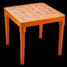 Детска маса Английска азбука оранж