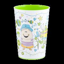 Чаша с декор 0,4 л MAGIC олива