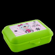 Кутия за сандвичи Pet shop олива