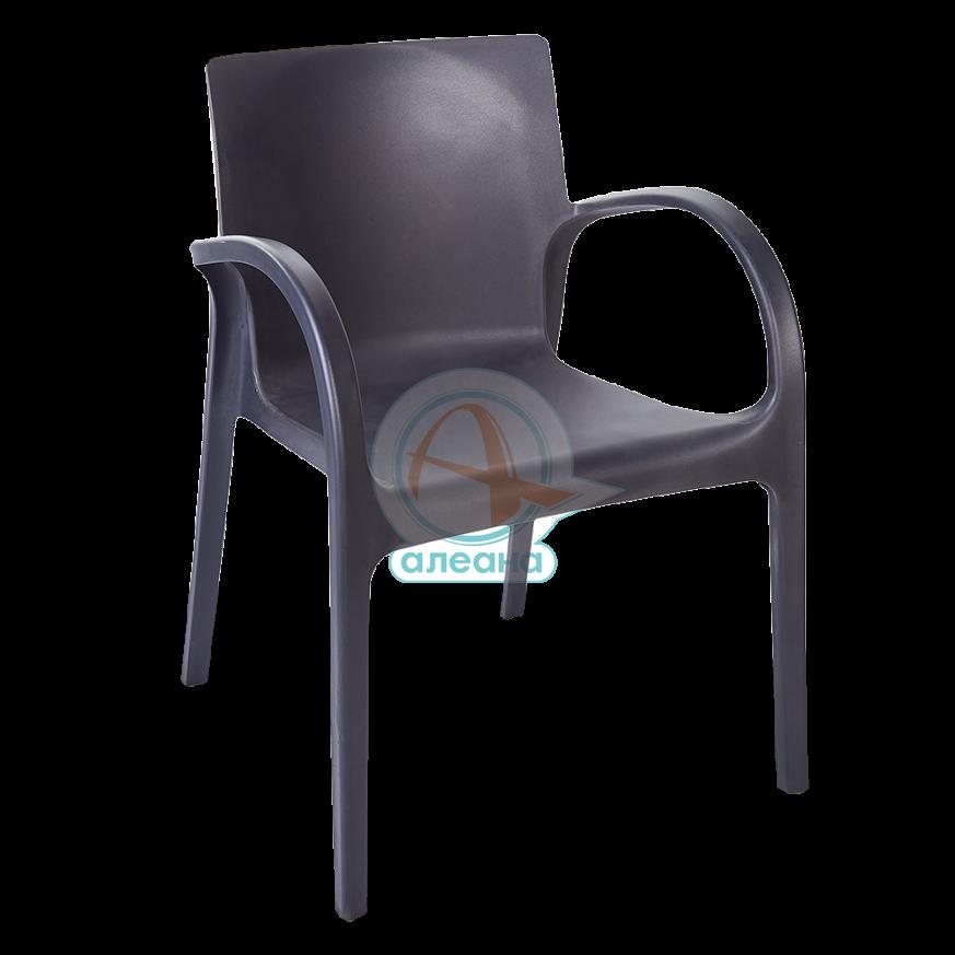 Пластмасов стол ХЕКТОР тъмно сив